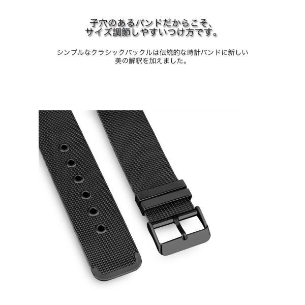 アップルウォッチ ベルト Apple Watch Series Series3 Series2 替えベルト 汎用 38mm 42mm シンプル ステンレススチール製 サイズ調節 おしゃれ 時計バンド|zacca-15|05