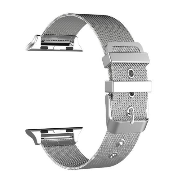 アップルウォッチ ベルト Apple Watch Series Series3 Series2 替えベルト 汎用 38mm 42mm シンプル ステンレススチール製 サイズ調節 おしゃれ 時計バンド|zacca-15|08