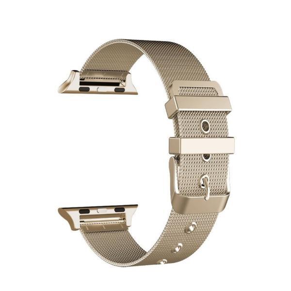 アップルウォッチ ベルト Apple Watch Series Series3 Series2 替えベルト 汎用 38mm 42mm シンプル ステンレススチール製 サイズ調節 おしゃれ 時計バンド|zacca-15|09