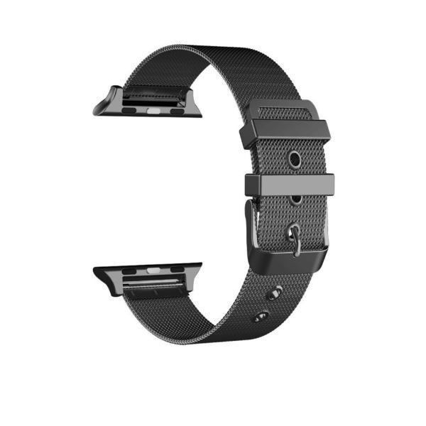 アップルウォッチ ベルト Apple Watch Series Series3 Series2 替えベルト 汎用 38mm 42mm シンプル ステンレススチール製 サイズ調節 おしゃれ 時計バンド|zacca-15|10