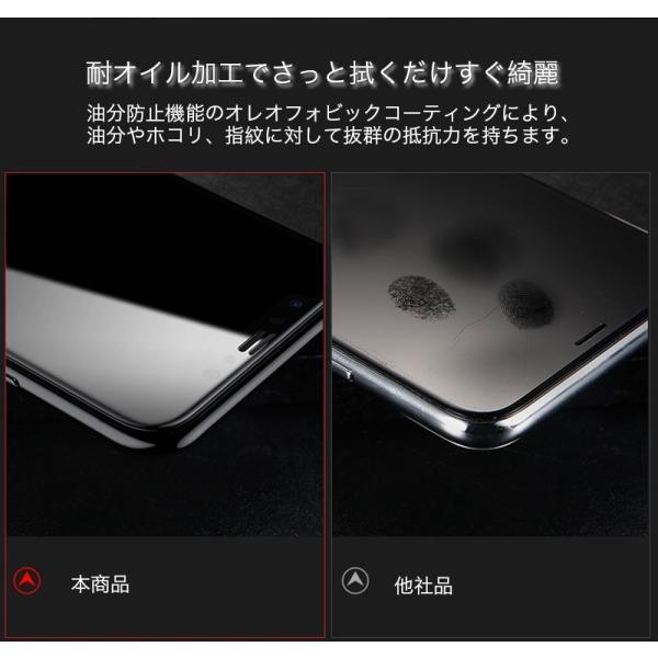 iPhoneX ガラスフィルム 覗き見防止 iPhone X 強化ガラス 耐衝撃 9H アイフォンX 保護フィルム 覗き見防止 3D Touch対応 衝撃吸収 飛散防止 指紋防止|zacca-15|14