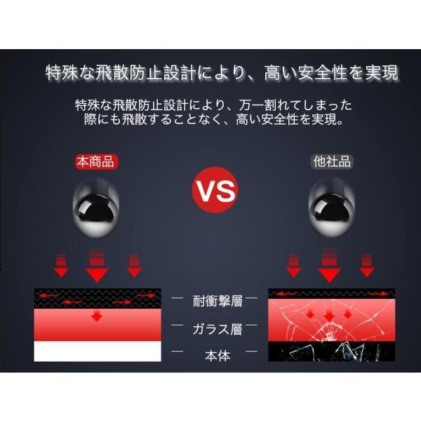 iPhoneX ガラスフィルム 覗き見防止 iPhone X 強化ガラス 耐衝撃 9H アイフォンX 保護フィルム 覗き見防止 3D Touch対応 衝撃吸収 飛散防止 指紋防止|zacca-15|10