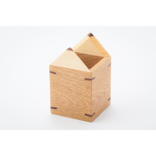 えんぴつ型えんぴつたて 木の鉛筆立て ぺんスタンド ぺん立て 小物入れ |zaccan-shop|03