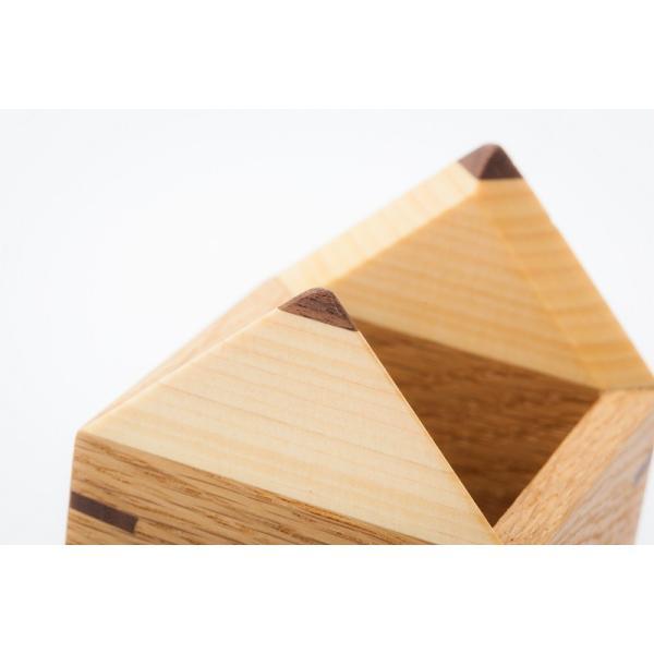 えんぴつ型えんぴつたて 木の鉛筆立て ぺんスタンド ぺん立て 小物入れ |zaccan-shop|04