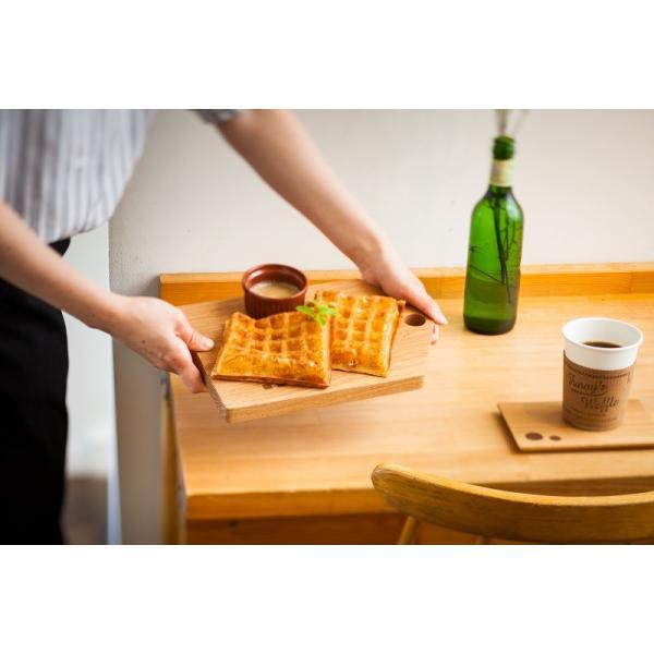 カッティングボード(Mサイズ)木 お皿 トレイ まな板 ナラ材|zaccan-shop|02