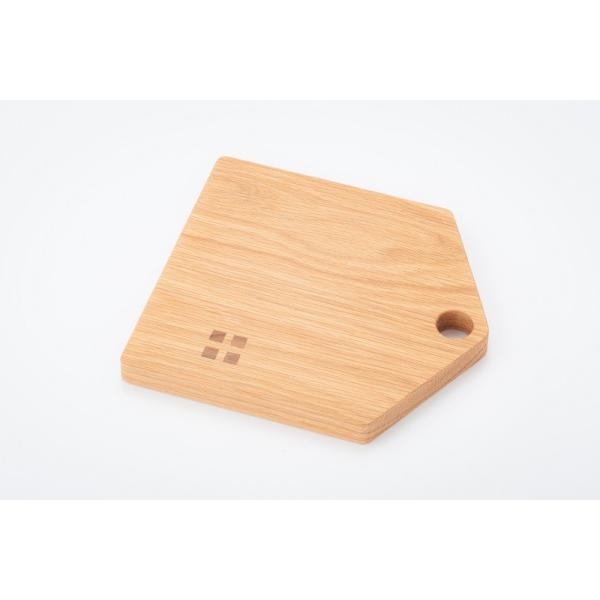 カッティングボード(Mサイズ)木 お皿 トレイ まな板 ナラ材|zaccan-shop|04
