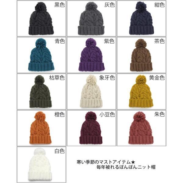 ニット帽 ボンボン レディース メンズ スノボ [M便 9/8]2 zaction 03