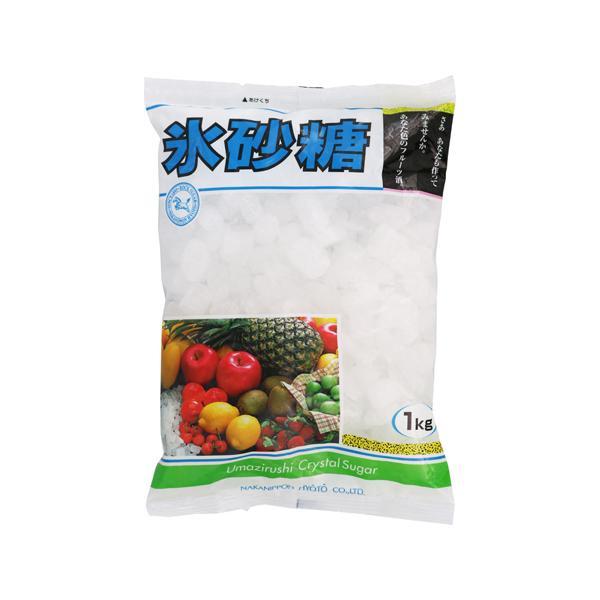 [中日本氷糖]氷砂糖 クリスタル 1kg