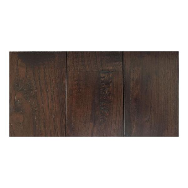 1-344 マ)栗クリ アンティーク黒 UV着色塗装 無垢フローリング FLKU90ANB(長さ1.82m×厚み1.5cm×幅9cm 1 束=10枚入=約半坪=1.638m2)|zaimoku-techan|04