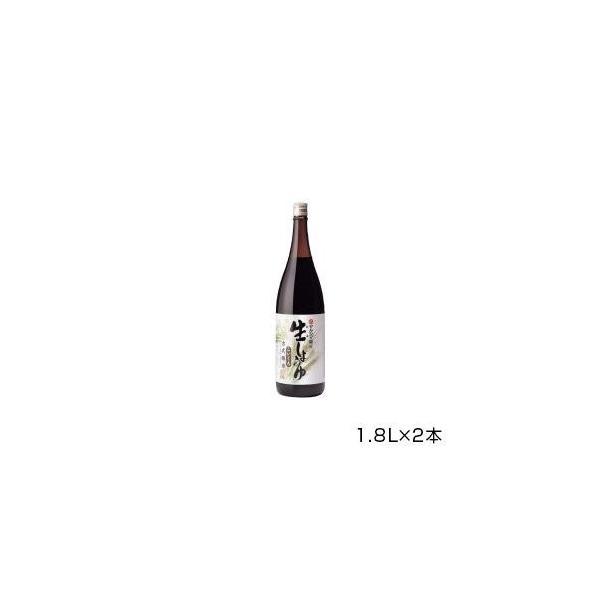 丸島醤油 純正生しょうゆ(濃口) 1.8L×2本 1209   代引き・同梱不可【COMシリーズ】
