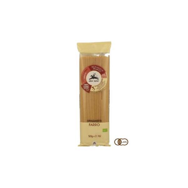 アルチェネロ 有機スペルト小麦 スパゲッティ 500g 12個セット C5-14   代引き・同梱不可【COMシリーズ】