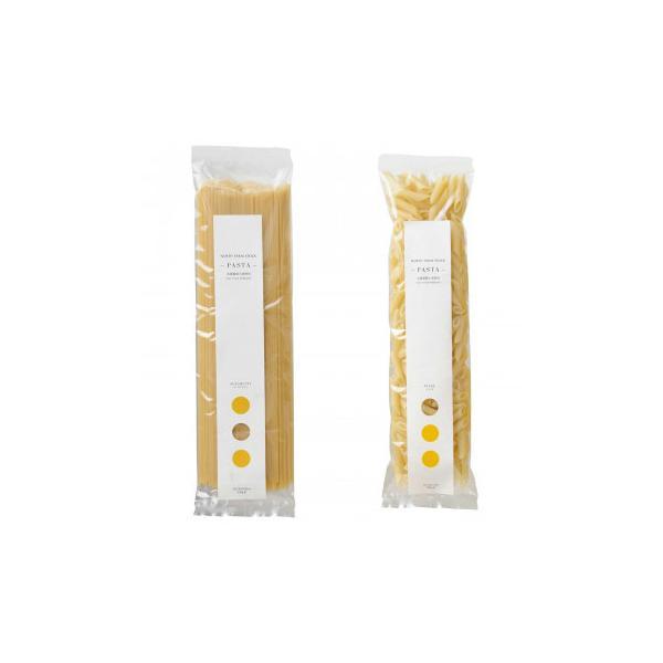 ノースファームストック 北海道産小麦のパスタ2種 スパゲティ250g/ペンネ200g 20セット   代引き・同梱不可【COMシリーズ】