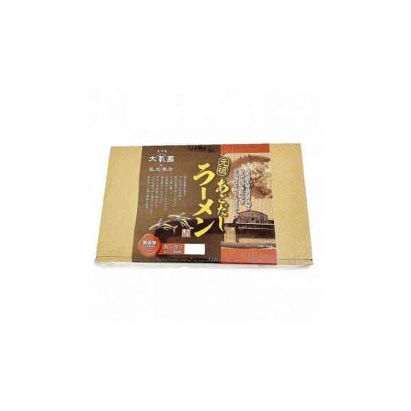 鳥志商店 大氣圏あごだしラーメン4食×10セット TA-10   代引き・同梱不可【COMシリーズ】