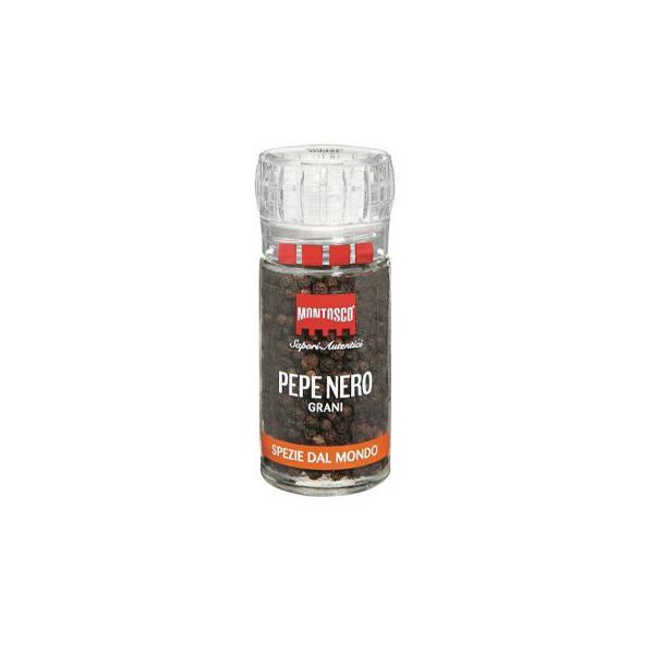 モントスコ ブラックペッパー(プラスチックミル) 43g 8セット 077005   代引き・同梱不可【COMシリーズ】
