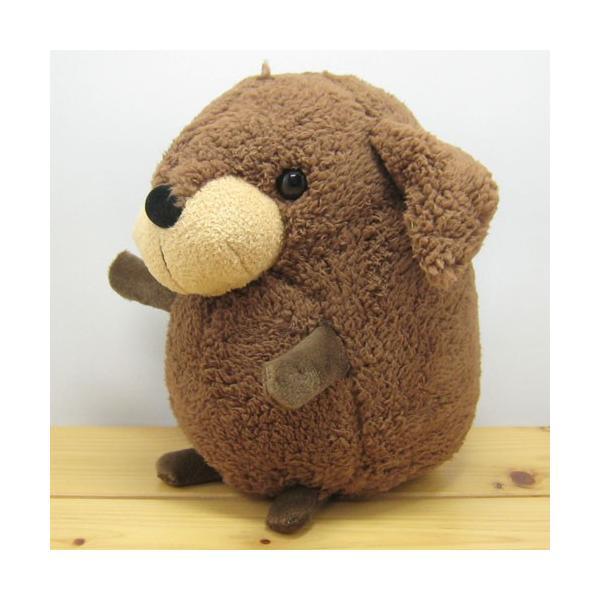 犬 ぬいぐるみ baby nature(ベイビーナチュレ) ダックス(ブラウン) ぬいぐるみ Mサイズ ダックスフンド 雑貨 ダックスフンド グッズ 犬|zakka-fleur