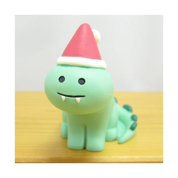 デコレ コンコンブル メリークリスマス コンブル アップルパーティ Merryザウルス  DECOLE concombre CHRISTMAS 雑貨 オブジェ置物 インテリア かわいい|zakka-fleur