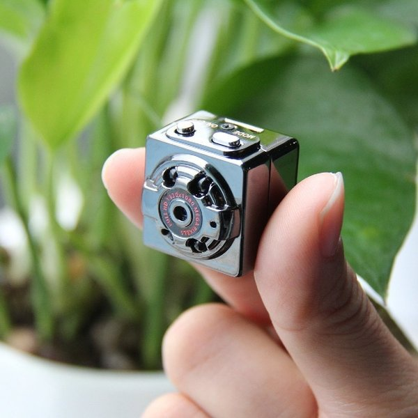 防犯カメラ 超小型 フルHD監視カメラ 送料無料 充電式 ウェアラブル micro SDカード 録画 1080P 親指サイズ|zakka-gs|05
