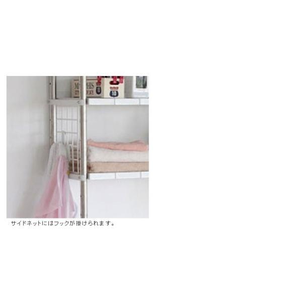 ランドリーラック 伸縮 3段 ステンレス ランドリー収納 ランドリー ラック 収納 洗濯機ラック 洗濯機 棚 サニタリー|zakka-gu-plus|04