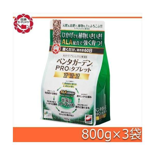 日清ガーデンメイト ペンタガーデンPROタブレット 800g×3袋 代引き不可