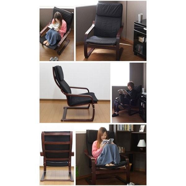 肘掛け椅子 リラックスチェア アームチェア 曲げ木 zakka-gu-plus 02