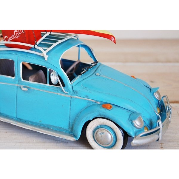COVENT GARDEN コベントガーデン VW ビートル サーフ ブリキ製 オブジェ レトロ調 サーファー フォルクスワーゲン|zakka-olive|03
