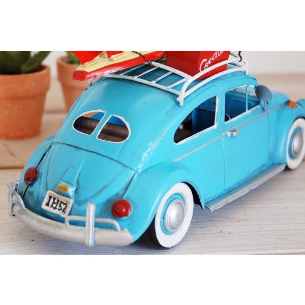 COVENT GARDEN コベントガーデン VW ビートル サーフ ブリキ製 オブジェ レトロ調 サーファー フォルクスワーゲン|zakka-olive|04