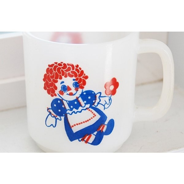 グラスベイク  ラガディ マグ  アン アンディ   マグカップ ミルクガラス ミルクグラス