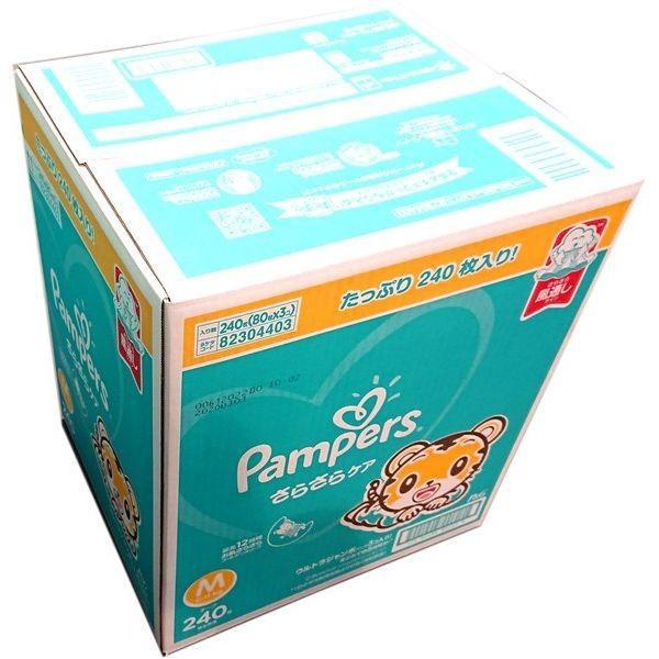 パンパース さらさらケアテープ Mサイズ 240z枚入り 超ふわふわ革命|zakka-park