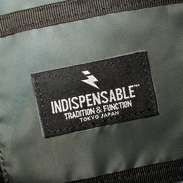 INDISPENSABLE インディスペンサブル ウェストバッグ アタッチ WAIST BAG ATTACH ボディバッグ ウェストバッグ メンズ レディース 14042000 zakka-tokia 06