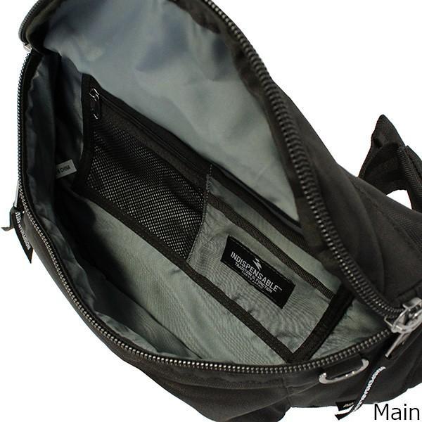 INDISPENSABLE インディスペンサブル ウェストバッグ アタッチ WAIST BAG ATTACH ボディバッグ ウェストバッグ メンズ レディース 14042000 zakka-tokia 07