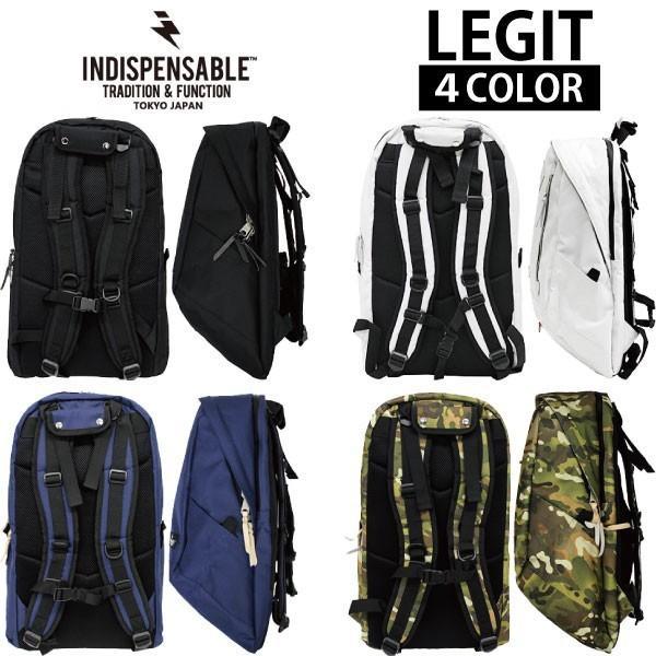 INDISPENSABLE/インディスペンサブル LEGIT 17710200 バックパック/リュックサック/カバン/鞄 メンズ/レディース|zakka-tokia|02