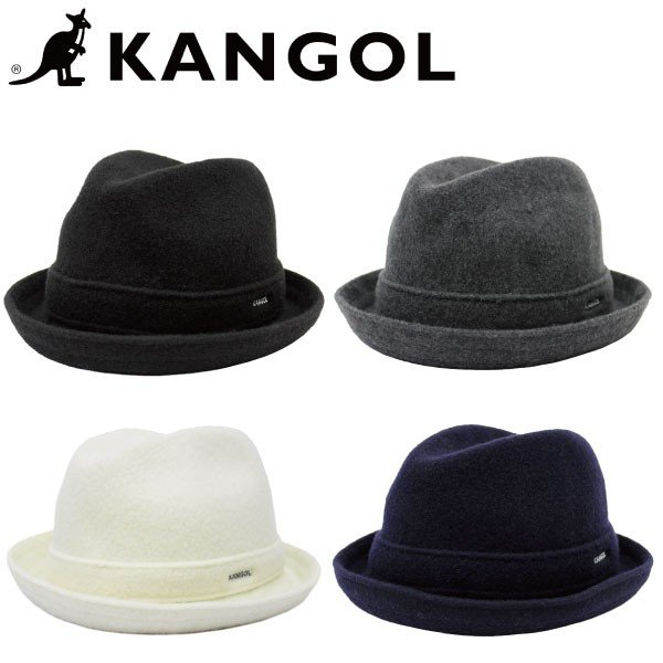 KANGOL カンゴール Heritage ヘリテージ WOOL PLAYER ハット 帽子 メンズ レディース ウール 6447BC|zakka-tokia
