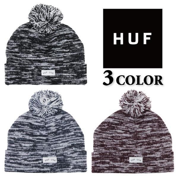 HUF ハフ USA POM BEANIE ニット帽 ビーニー 帽子 メンズ レディース BN53014|zakka-tokia
