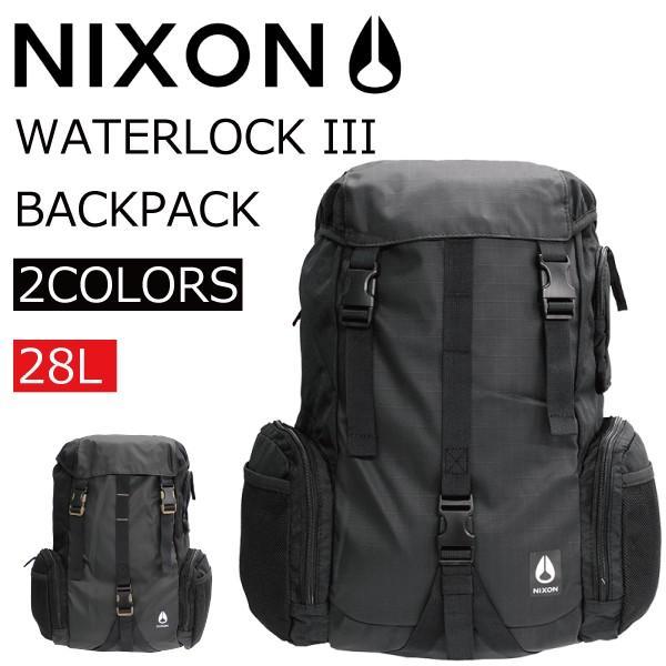 NIXON ニクソン WATERLOCK3 ウォーターロック3 リュック リュックサック バックパック デイパック バッグ メンズ レディース C2812 zakka-tokia