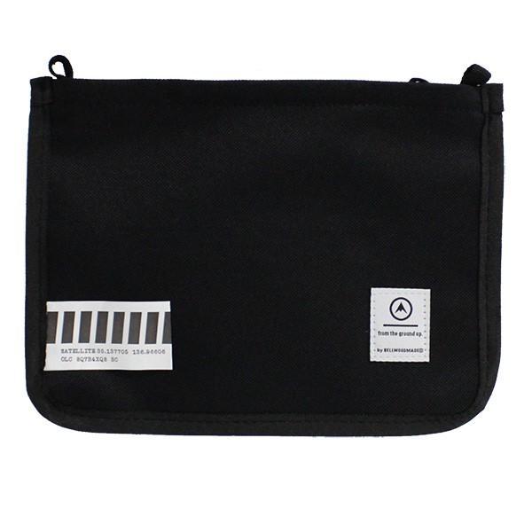 SATELLITE サテライト BELLWOODMADE ベルウッドメイド CLEAR BLACK クリア ブラック サコッシュ バッグ カバン 鞄|zakka-tokia|02
