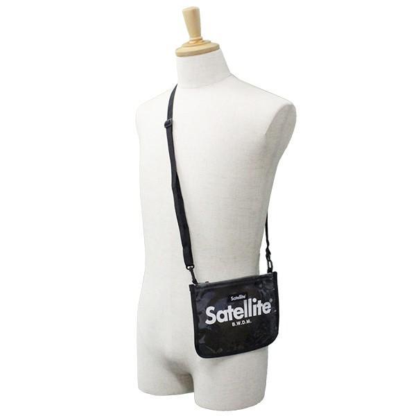 SATELLITE サテライト BELLWOODMADE ベルウッドメイド CLEAR BLACK クリア ブラック サコッシュ バッグ カバン 鞄|zakka-tokia|04