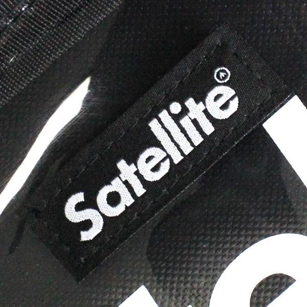 SATELLITE サテライト BELLWOODMADE ベルウッドメイド CLEAR BLACK クリア ブラック サコッシュ バッグ カバン 鞄|zakka-tokia|05