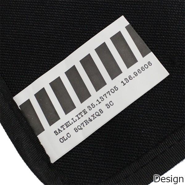 SATELLITE サテライト BELLWOODMADE ベルウッドメイド CLEAR BLACK クリア ブラック サコッシュ バッグ カバン 鞄|zakka-tokia|09