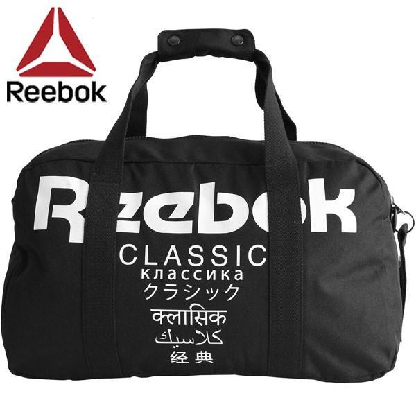 Reebok Classic リーボック クラシック CL ダッフルバッグ インターナショナル ボディバッグ ショルダーバッグ メンズ レディース DH3562 F ブラック