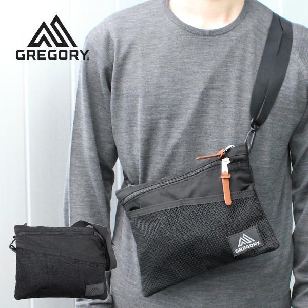 GREGORY グレゴリー CLASSIC SACOCHE M クラシック サコッシュ サコッシュ ショルダーバッグ バッグ レディース メンズ 109457 ブラック|zakka-tokia
