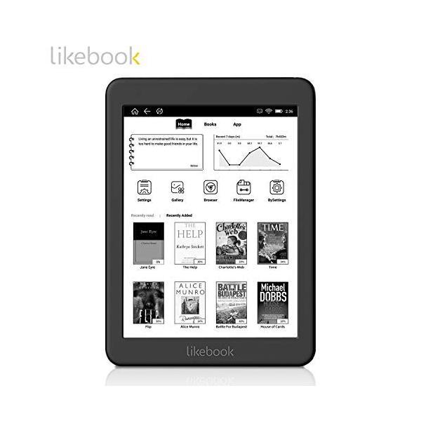 セット品 Three One? 電子書籍リーダー Likebook Mars Likebook Mars本体,専用ハードカバー,液晶保護フィ|zakka-viento