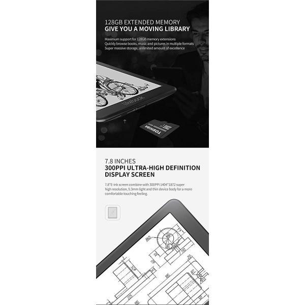 セット品 Three One? 電子書籍リーダー Likebook Mars Likebook Mars本体,専用ハードカバー,液晶保護フィ|zakka-viento|04