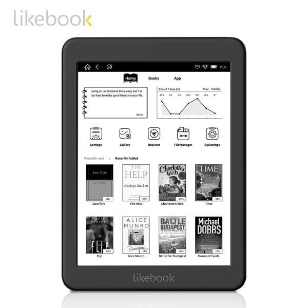 セット品 Three One? 電子書籍リーダー Likebook Mars Likebook Mars本体,専用ハードカバー,液晶保護フィ|zakka-viento|09
