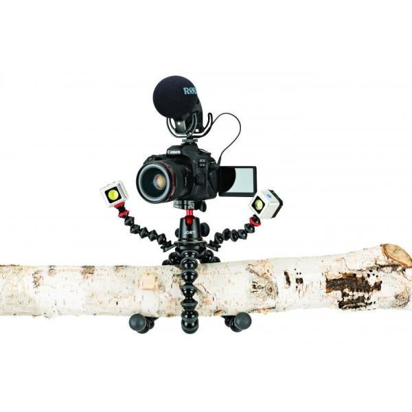 Joby ミニ三脚 ゴリラポッド リグ 耐荷重5kg 雲台付属 アクセサリーが付けれるリグ付属 ブラック/チャコール JB01522-BWW|zakka-viento|14