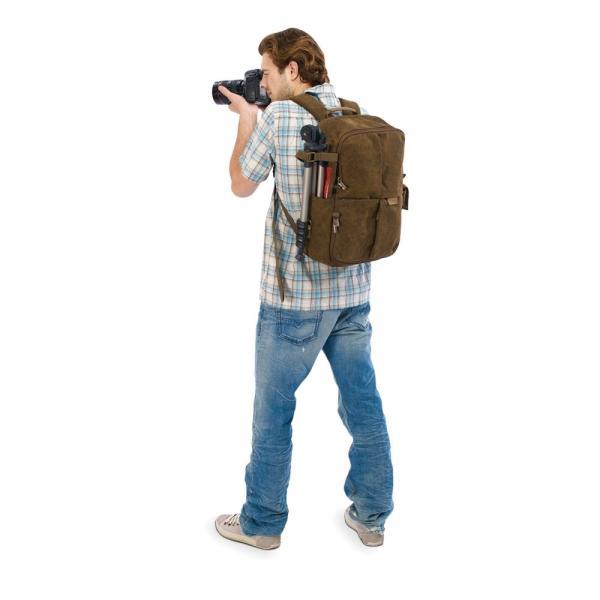 NATIONAL GEOGRAPHIC カメラリュック Africaコレクション 8.7L 撥水加工 ブラウンキャンバス NG A5270|zakka-viento