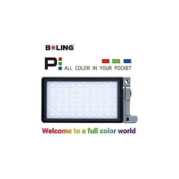 BOLING BL-P1 LEDビデオライト 2500k?8500k 0〜360°フルカラー 彩度調整 明るさ調整 0?100% 140分の zakka-viento 14