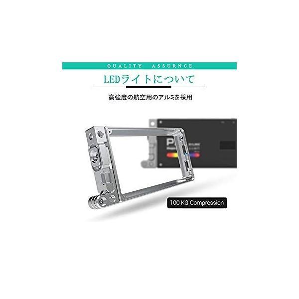 BOLING BL-P1 LEDビデオライト 2500k?8500k 0〜360°フルカラー 彩度調整 明るさ調整 0?100% 140分の zakka-viento 07