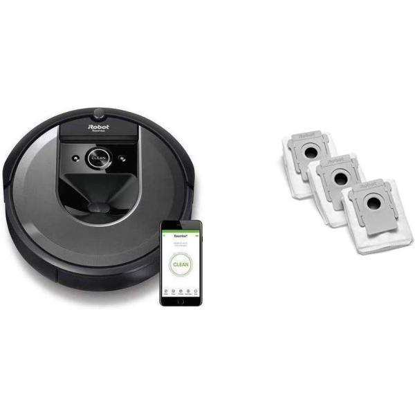 セット買いルンバ i7 アイロボット 最新 ロボット掃除機 水洗いできるダストボックス wifi対応 スマートマッピング 自動充電・運転再開 zakka-viento