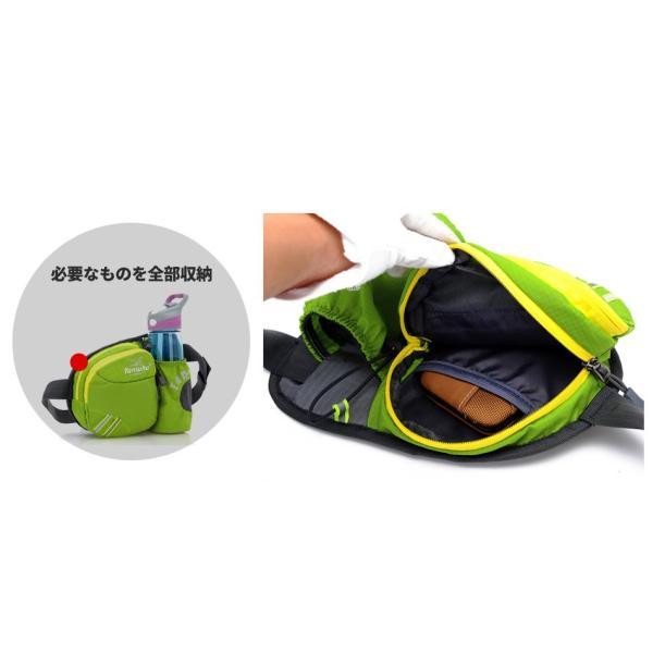 ウエストバッグ ウエストポーチ ランニングポーチ 登山 運動 ウエストバック ボディバッグ  ミリタリーバッグ ドラムバッグ 得トク2WEEKS セール|zakkacity|11