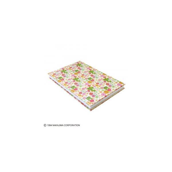 メール便送料無料 かえるのピクルス 御朱印帳 Flower Parade ST-TPC0003